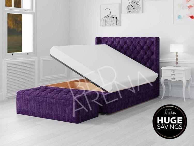 Frankfurt Ottoman Storage Bed