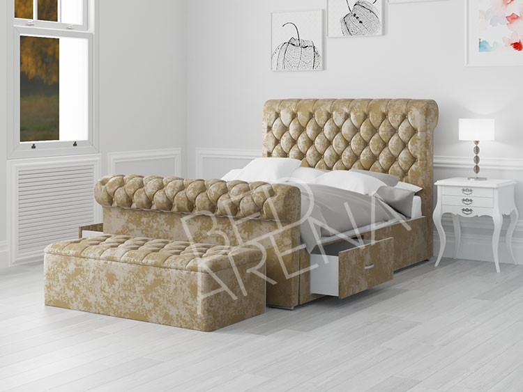 Gold Toronto Small Double Bed