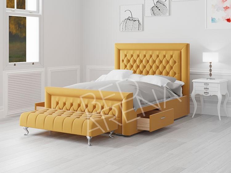 Cambridge Double Bed Yellow