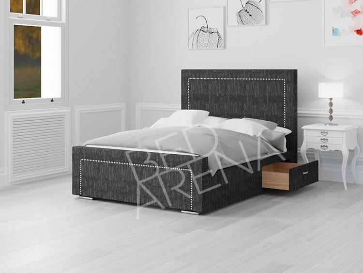 Calvin Single Bed Grey