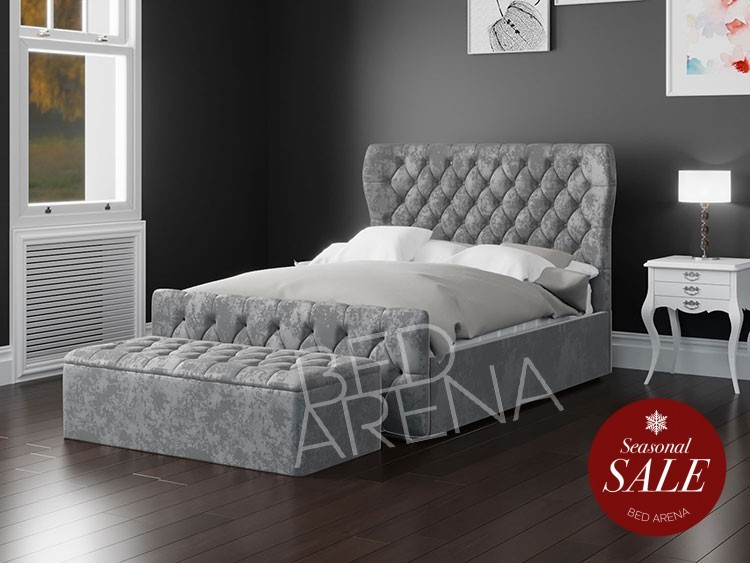 Westminster Grey Bed