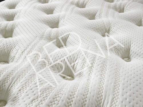 Bed Arena/Carter Lewis Cashmere 1500 Mattress - closeup image