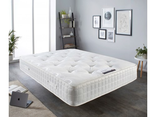 Image of the 2000 Comfort Pocket Ortho Mattress in a room.