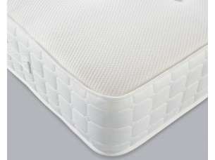 Image of the corner of the Essential Pocket 1000 + Memory Mattress.