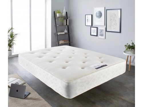 Image of the Luxury Memory Ortho Mattress in a room.